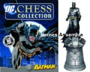 DC Chess Figurine Collection #01 Batman White King Eaglemoss